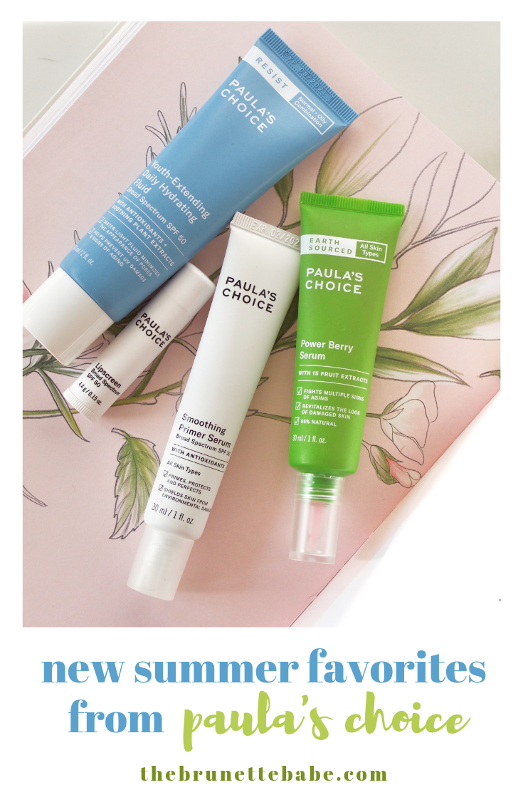 I've been loving everything I've tried from Paula's Choice lately! This brand is all about safe and effective skincare backed by scientific research